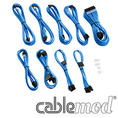 CableMod PRO ModMesh E-Series G3/G2/P2/T2 Cable Kit Light Blue
