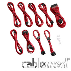 CableMod PRO ModMesh E-Series G3/G2/P2/T2 Cable Kit Red