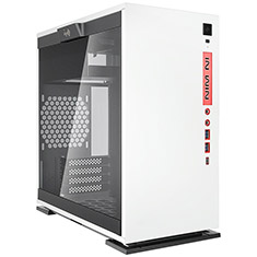 InWin 301C Mini Tower Case White