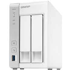 QNAP TS-231P 2 Bay NAS with 1GB RAM