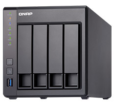 QNAP TS-431X-2G 4 Bay NAS with 2GB RAM