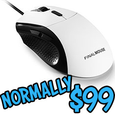Finalmouse Classic Ergo 2 Gaming Mouse White