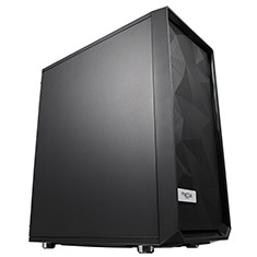 Fractal Design Meshify C Case Blackout