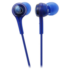 Audio Technica ATH-CK200BT Wireless In-Ear Headphones Blue