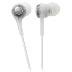 Audio Technica ATH-CK200BT Wireless In-Ear Headphones White