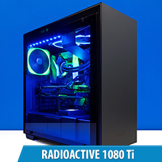 PCCG Radioactive 1080 Ti Gaming System