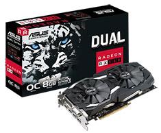 ASUS Radeon RX 580 Dual Gaming OC 8GB