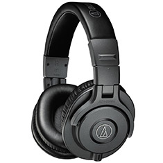 Audio-Technica ATH-M40XMG Professional Studio Headphones Grey