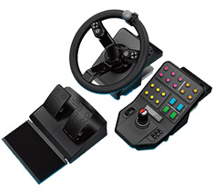 Logitech G Farm Simulator Heavy Equipment Controller Bundle