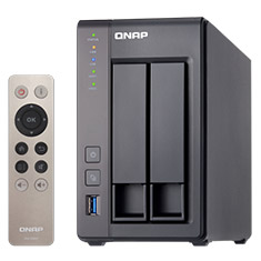 QNAP TS-251+ 2 Bay NAS with 2GB RAM