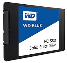 Western Digital Blue 2.5in SATA SSD 500GB