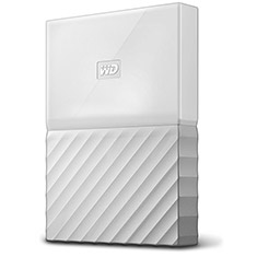 Western Digital WD My Passport 1TB 2.5in External HDD White