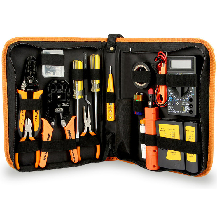 Jakemy JM-P15 17 Piece Network Repair Tool Set