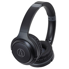 Audio-Technica ATH-S200BT Bluetooth On-Ear Headphones Black