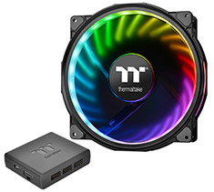 Thermaltake Riing Plus 20 LED RGB Case Fan Premium Edition