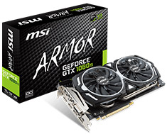 MSI GeForce GTX 1080 Ti Armor OC 11GB