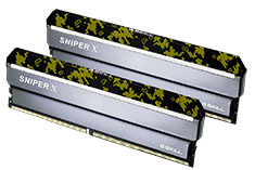 G.Skill Sniper X F4-2400C17D-16GSXK 16GB (2x8GB) DDR4 Digital