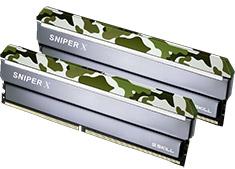 G.Skill Sniper X F4-3200C16D-16GSXFB 16GB (2x8GB) DDR4 Classic