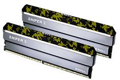 G.Skill Sniper X F4-3600C19D-32GSXKB 32GB (2x16GB) DDR4 Digital