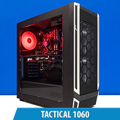PCCG Tactical 1060 Gaming System
