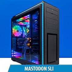 PCCG Mastodon SLI Gaming System