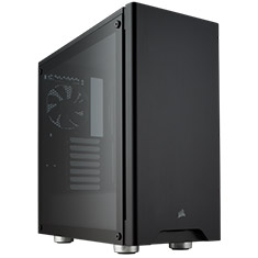 Corsair Carbide 275R Tempered Glass Case - Black
