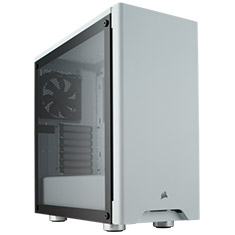 Corsair Carbide 275R Tempered Glass Case - White