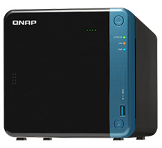 QNAP TS-453Be-4G 4 Bay NAS with 4GB RAM
