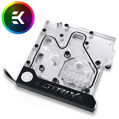 EK FB ASUS Z270E Strix RGB Monoblock Nickel