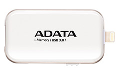 ADATA UE710 iMemory Lightning USB 3.0 Flash Drive 32GB White
