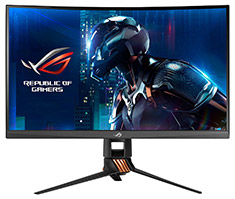 ASUS ROG PG27VQ QHD 165Hz G-Sync Curved 27in TN Gaming Monitor