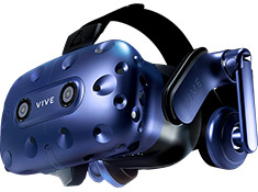 HTC Vive Pro Virtual Reality Headset Upgrade