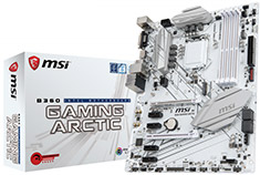 MSI B360 Gaming Arctic Motherboard