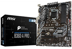 MSI B360A Pro Motherboard