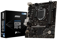 MSI B360M Pro-VD Motherboard