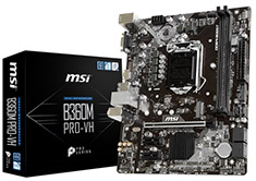 MSI B360M Pro-VH Motherboard