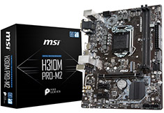 MSI H310M Pro M2 Motherboard