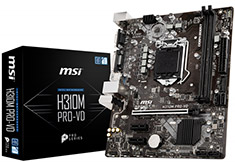 MSI H310M Pro-VD Motherboard