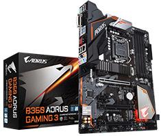 Gigabyte AORUS B360 Gaming 3 Motherboard