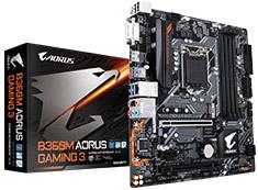 Gigabyte AORUS B360M Gaming 3