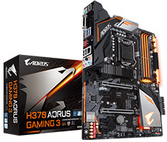 Gigabyte AORUS H370 Gaming 3 Motherboard