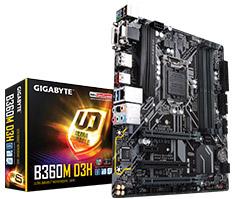 Gigabyte B360M D3H Motherboard