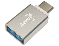 Aerocool Slimline USB Type-C to USB 3.0 Adapter