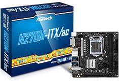 ASRock H270M ITX/AC Motherboard