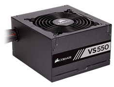 Corsair VS550 550W 80 Plus White Power Supply