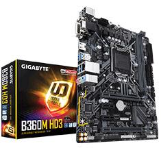 Gigabyte B360M HD3 Motherboard
