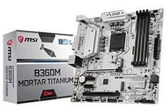MSI B360M Mortar Titanium Motherboard