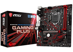 MSI B360M Gaming Plus Motherboard