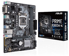 ASUS Prime B360M-K Motherboard