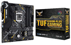 ASUS TUF B360M Plus Gaming Motherboard